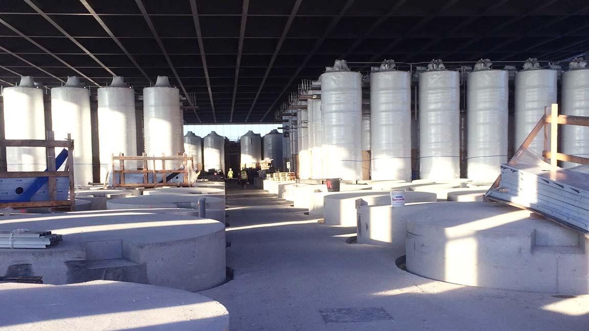 Installation silos et cuves