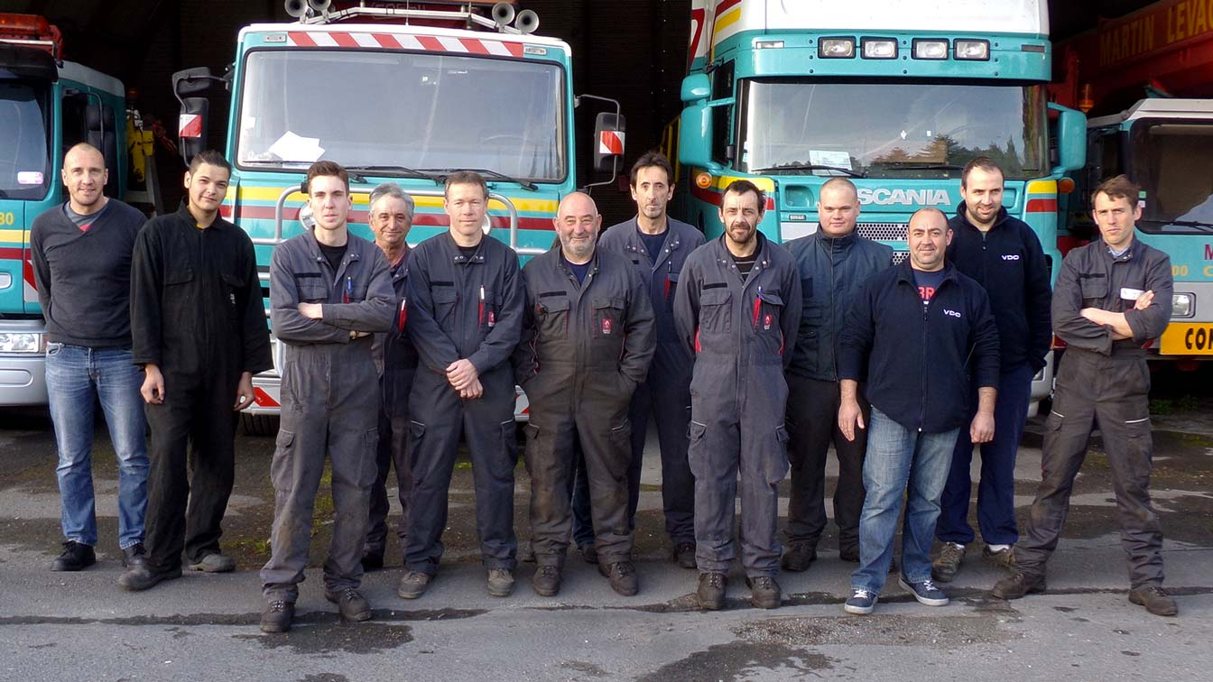 Equipe de Truck'Services